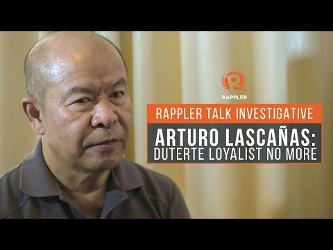 Rappler Talk Investigative: Arturo Lascañas, Duterte loyalist no more