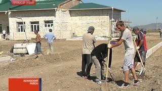Руководство Хакасии проинспектировало строительство школы в аале Катанов