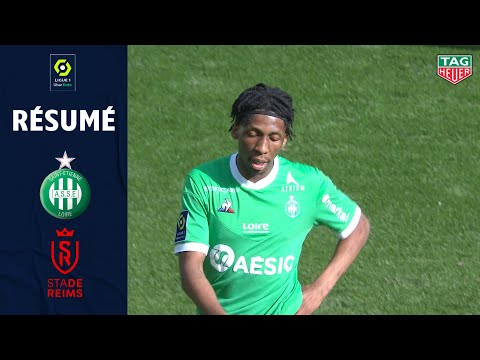 St. Etienne Reims Goals And Highlights