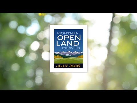 Montana Open Land Month - Open Land is Good for Business