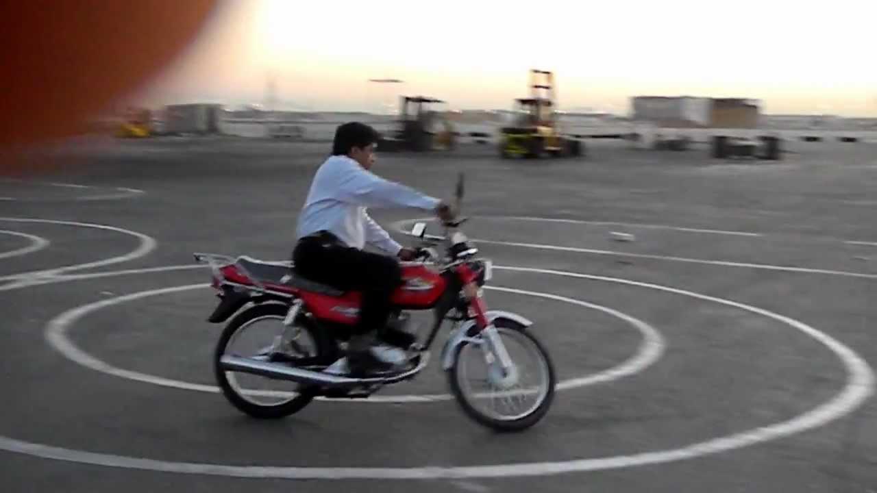 Motorcycle Skills Tests In Abu Dhabi Uae Youtube