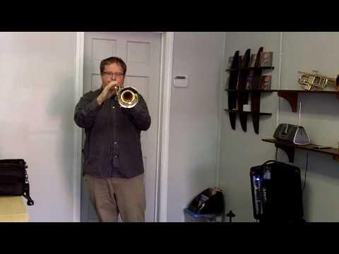 """Custom Adams  A4 """"Heavy"""" Trumpet f/s at Austin Custom Brass"""
