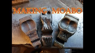 Making Moabo: How to forge a steel Skull
