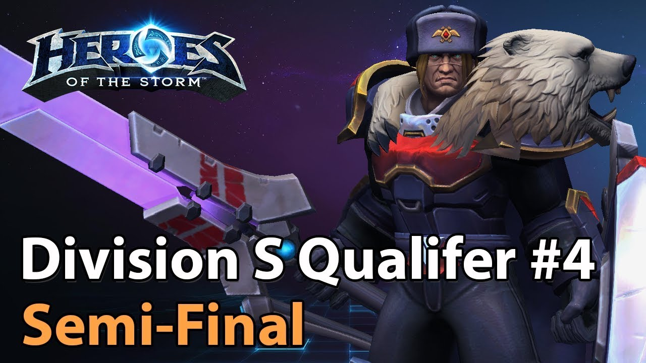 ► Division S Qualifier #4 - Semifinal - Heroes of the Storm Esports