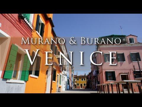 Venice : Burano & Murano islands