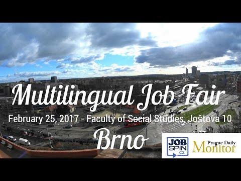 JobSpin.cz Multilingual Job Fair Brno Powered by Daily Monitor