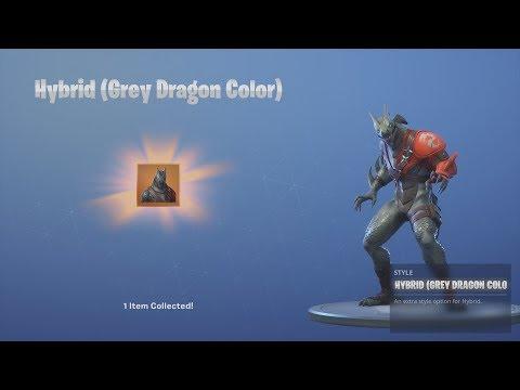 *UNLOCKING* Ninja/Hybrid 'BLUE DRAGON' Skin After WINNING Fortnite Victory Royale