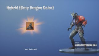 *UNLOCKING* Ninja/Hybrid 'BLUE DRAGON' Skin After WINNING Fortnite Victory Royale