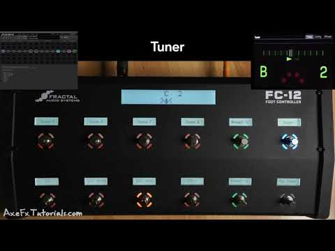 Fractal Audio FC-12: Quick Look | Default Layouts | EZ Switch Editing