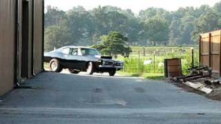 1968 Plymouth HEMI Super Stock Barracuda  Hodge Restorations First Time Drive