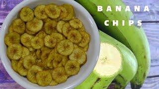 Banana Chips Recipe/घर पर बनाइए कुरकुरे क्रिस्पी केले के चिप्स/Homemade Banana Chips