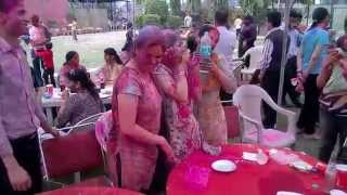 Holi at Chandigarh Club 2014 - PART 4
