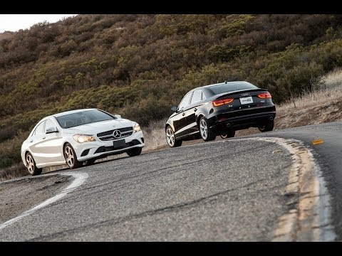 2014 Mercedes-Benz CLA250 Vs. 2015 Audi A3 | Comparison Test