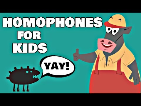 Homophones for Kids | Special Words that Sound the Same