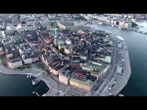 Stockholm City Showreel photography aerial news video gathering helicopter airplane