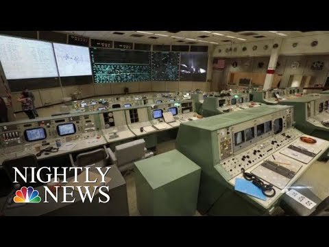 NASA Mission Control Restored To The Way It Looked In 1969 For New Museum | NBC Nightly News