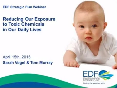 Webinar: Reducing our exposure to toxic chemicals in our daily lives