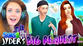🤔WHAT SHOULD FAITH DO!?🤔 (The Sims 4 IN THE CITY #44!💒)