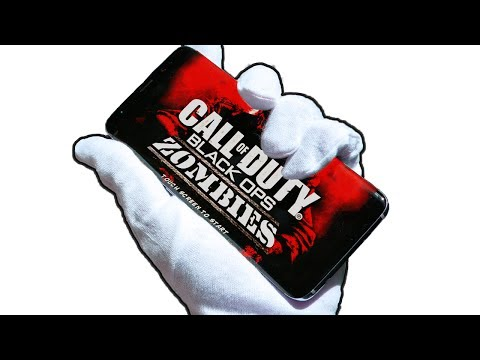 CALL OF DUTY ZOMBIES ON SAMSUNG GALAXY S8 CHALLENGE!