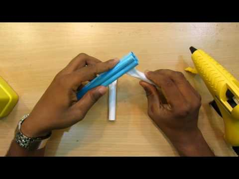 How to Make a Paper Pistol That Shoots Rubberband - GTa Weapon