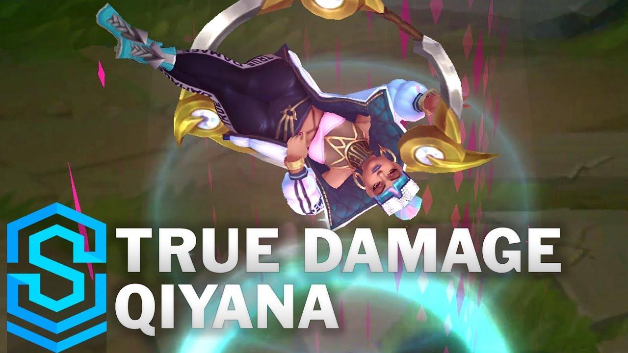 True Damage Qiyana Skin Spotlight - League of Legends