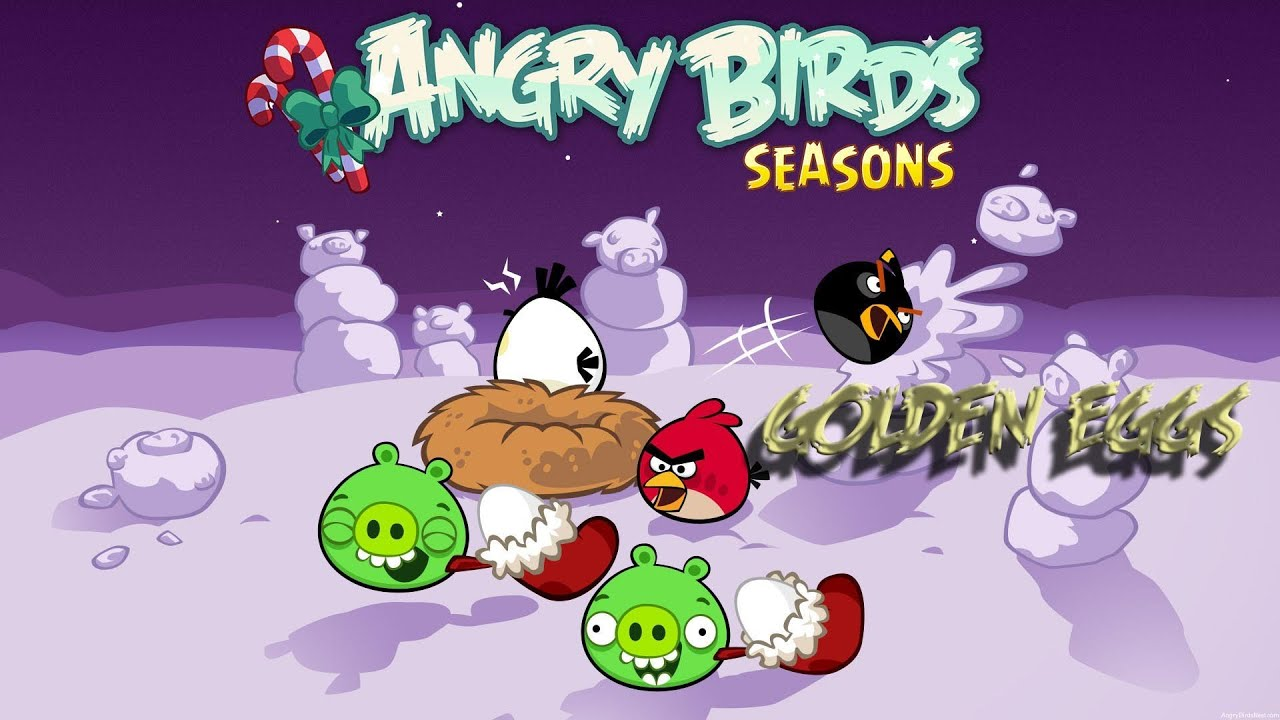 Angry Birds Seasons Hogs and Kisses Nivel 1 Parte 1 (ALEX) by MultiAxelis