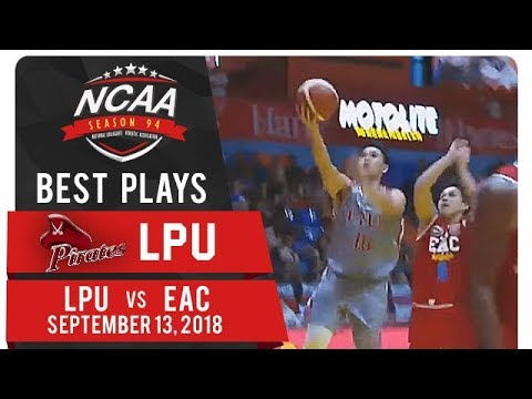 NCAA 94 MB: Marcelino twins connect with Caduyac for fastbreak finish! | LPU | Best Plays