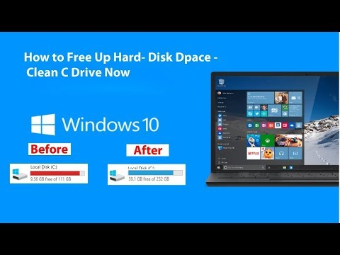 How to Clean C Drive In Windows 10 (Make Your PC Faster) 2019