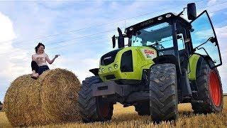 Claas Arion 430 CIS - Rolnik Szuka Traktora ||39 (Prezentacja / Walkaround)