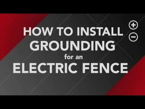 Ground Rod Installation Grounding Electric Fence Zareba®