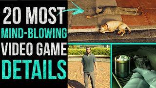 20 Most MIND-BLOWING Details in Video Games