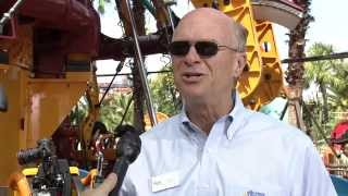 Interview with Mark Rose at Busch Gardens Tampa's Falcon's Fury
