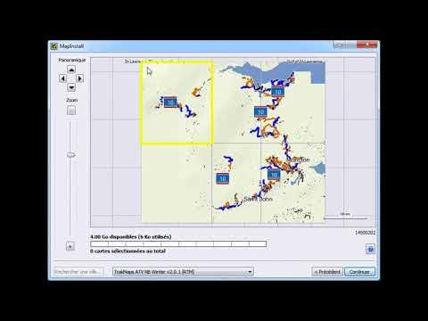 Comment transférer une carte TrakMaps à un GPS Garmin
