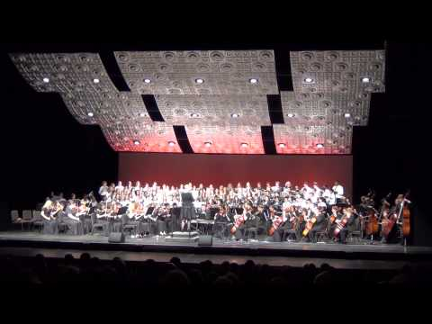 BGHS Combined Choir & Orchestra Performs: Gloria Domine fili unigenite