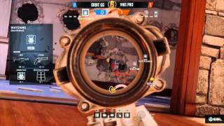 Orbit.K9 1v5 Ace clutch during NA Proleague #TheDream Rainbow Six Siege
