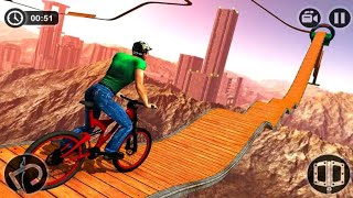 IMPOSSIBLE BMX BICYCLE STUNTS GAME #Android GamePlay FHD #Cycle Wala Game #Games Free For Android
