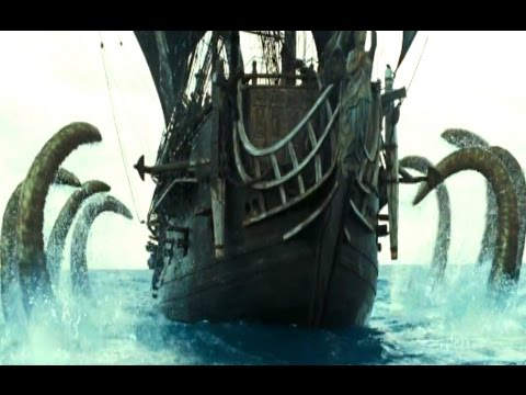 Pirates Of The Caribbean 2 | The Kraken Battle Scene