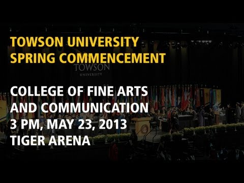 College of Fine Arts and Communication, Spring Commencement