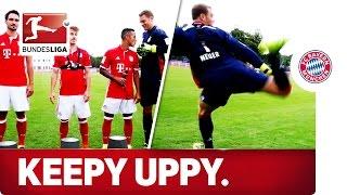 Keepy Uppy Challenge - FC Bayern München