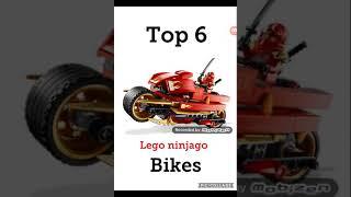 Top 6 lego ninjago bikes