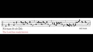 Viderunt omnes (anonymous monophonic plainchant)
