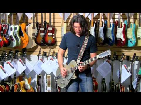 SUMMER SILVER WITH PHIL X!! 1955 Gretsch 6129 Silver Jet 01134