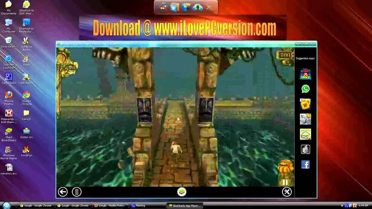 Temple Run For PC Gameplay - Free Download