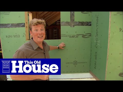 200 Years of Building Sheathing Technology | This Old House