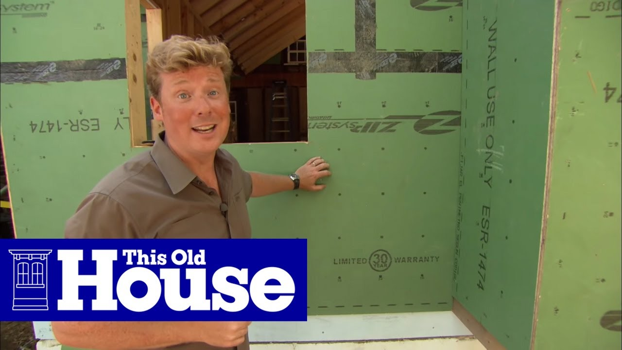 200 Years of Building Sheathing Technology   This Old House