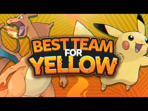 Best Team for Pokemon Yellow