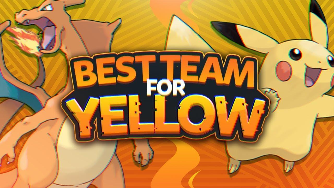 5113e3fba519 Best Team for Pokemon Yellow - YouTube