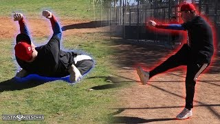 I KICKED THE FIRST EVER KICKBALL WALK-OFF! *Behind the Scenes* | Kleschka Vlogs