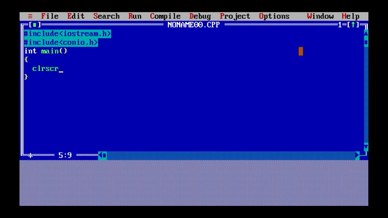 My First Batch File Program – Print Hello World