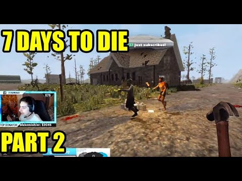 Shroud Plays 7 Days To Die For The First Time - PART 2 - Full Stream GAMEPLAY